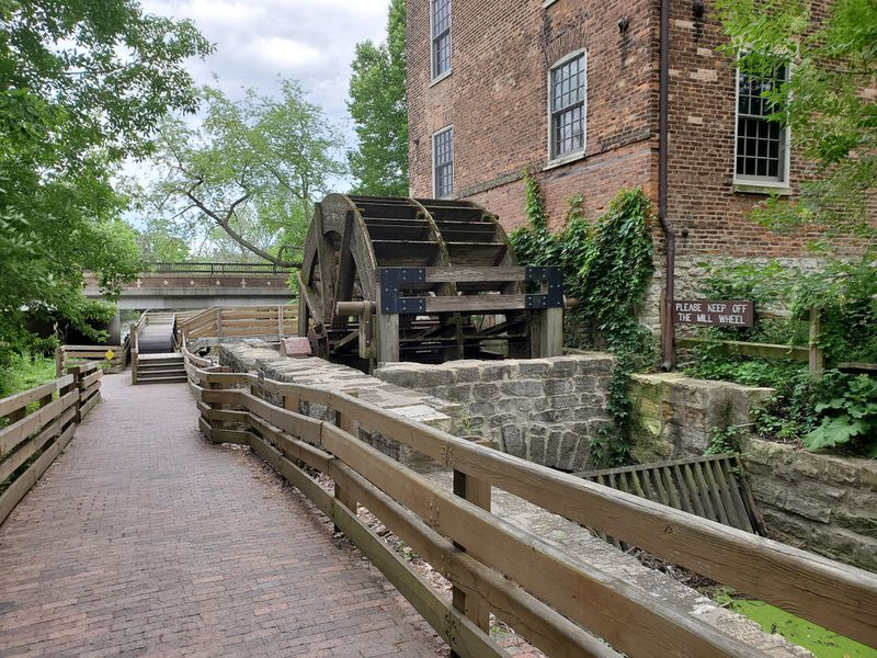 Graue Mill wheel